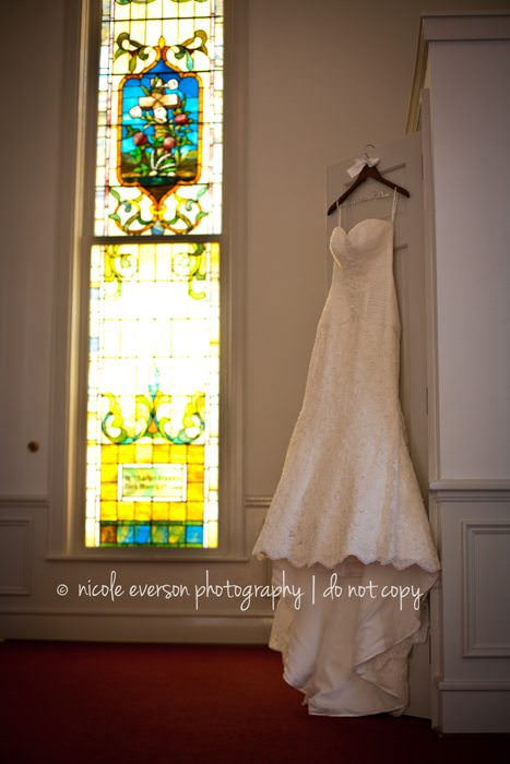 Tallahassee Wedding Dress Portaits